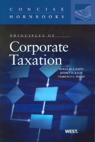 Principles of Corporate Taxation   2010 edition cover