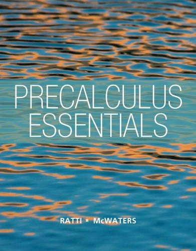 Precalculus Essentials   2014 edition cover