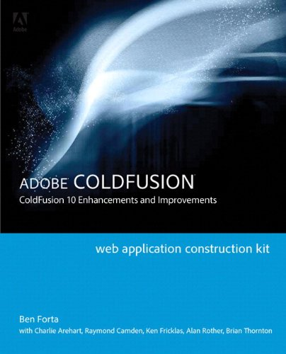 Adobe Coldfusion ColdFusion 10 Enhancements and Improvements  2013 edition cover