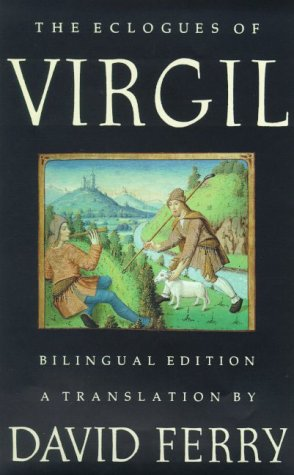 Eclogues of Virgil  N/A 9780374526962 Front Cover