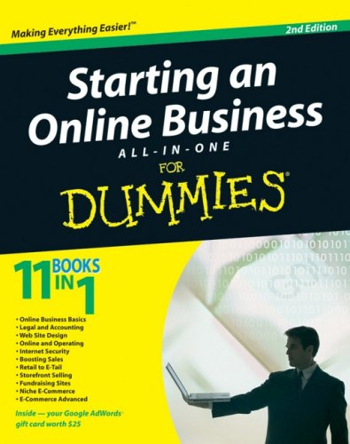 Starting an Online Business  2nd 2009 9780470431962 Front Cover