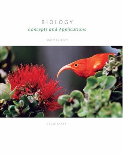 Biology : Concepts and Applications 6th 2006 9780495012962 Front Cover