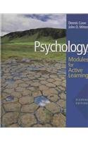 Psychology Modules for Active Learning with Concept Modules with Note-Taking and Practice Exams 11th 2009 9780495504962 Front Cover