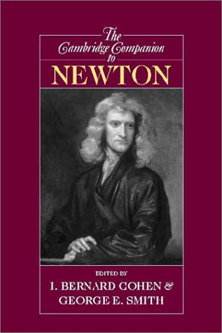 Cambridge Companion to Newton   2002 edition cover
