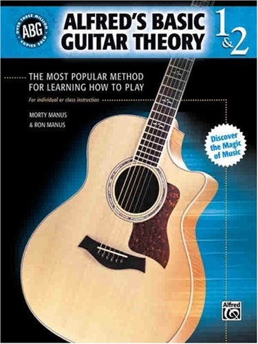 Alfred's Basic Guitar Theory 1 and 2 The Most Popular Method for Learning How to Play 3rd 1995 edition cover