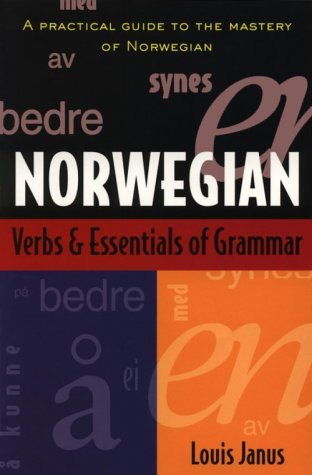 Norwegian Verbs and Essentials of Grammar   2000 edition cover