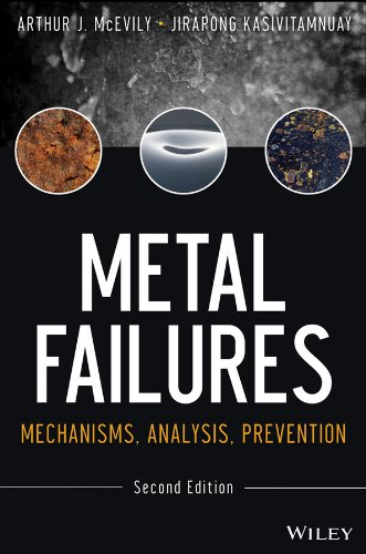 Metal Failures Mechanisms, Analysis, Prevention 2nd 2013 edition cover