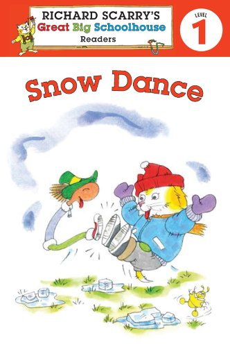 Richard Scarry's Readers (Level 1): Snow Dance   2010 9781402798962 Front Cover