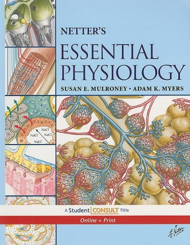 Netter's Essential Physiology With STUDENT CONSULT Online Access  2009 edition cover