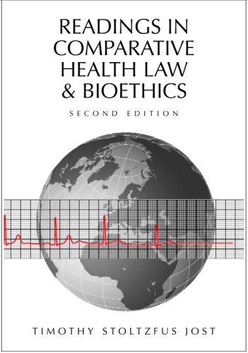 Readings in Comparative Health Law and Bioethics  2nd 2007 edition cover