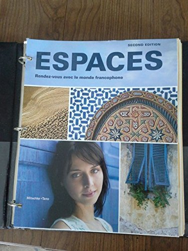 Espaces  2nd (Student Manual, Study Guide, etc.) edition cover