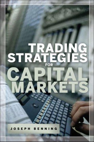 Trading Stategies for Capital Markets   2008 9780071464963 Front Cover