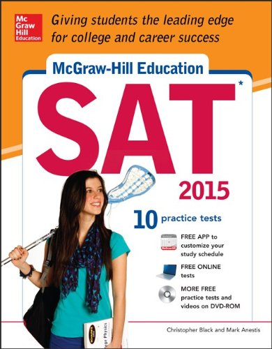 McGraw-Hill Education Sat 2015   2014 edition cover