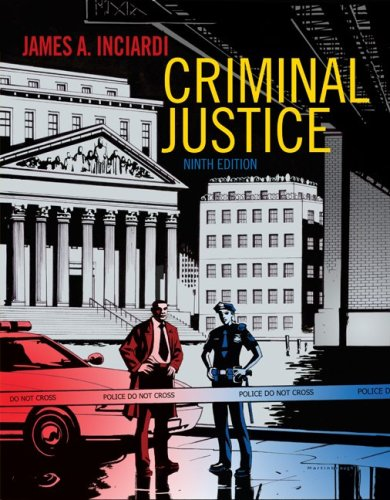Criminal Justice  9th 2010 edition cover