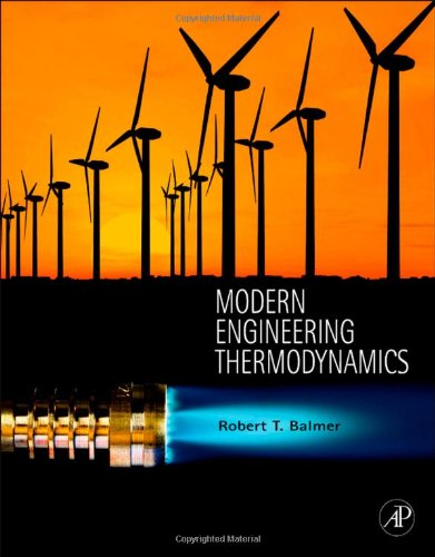 Modern Engineering Thermodynamics   2011 edition cover