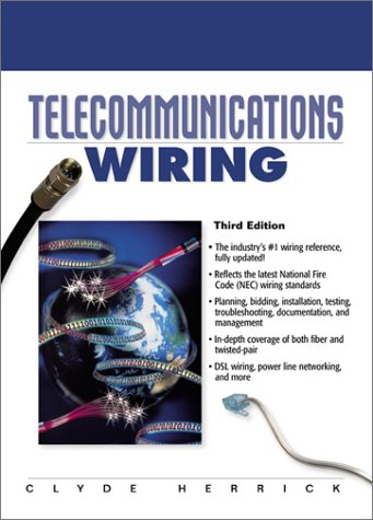 Telecommunications Wiring  3rd 2001 (Revised) edition cover