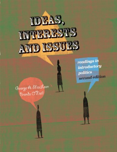 Ideas, Interests, and Issues Readings in Introductory Politics 2nd 2009 9780132068963 Front Cover