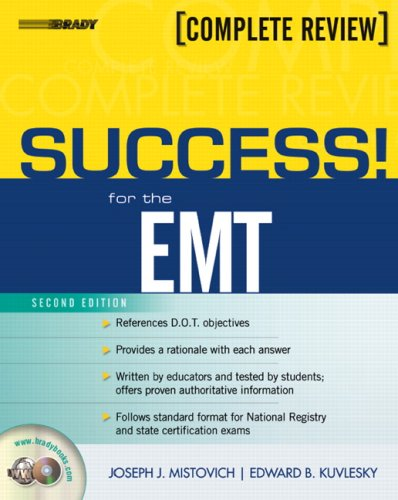 Success! for the EMT  2nd 2007 (Revised) edition cover