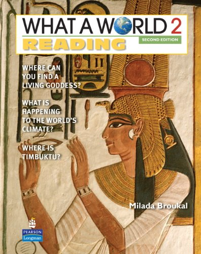 What a World Reading 2 Amazing Stories from Around the Globe 2nd 2011 edition cover
