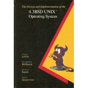 Design and Implementation of the 43BSD UNIX Operating System  1st 1989 edition cover