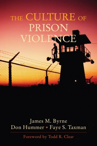 Culture of Prison Violence   2008 edition cover