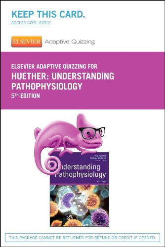 Elsevier Adaptive Quizzing for Understanding Pathophysiology (Retail Access Card)  5th edition cover