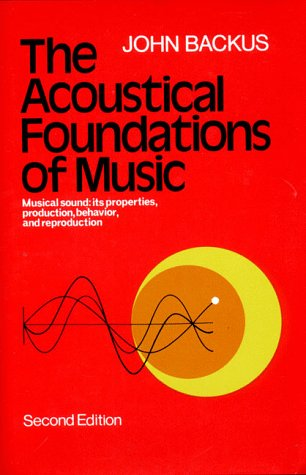 Acoustical Foundations of Music  2nd 1977 edition cover