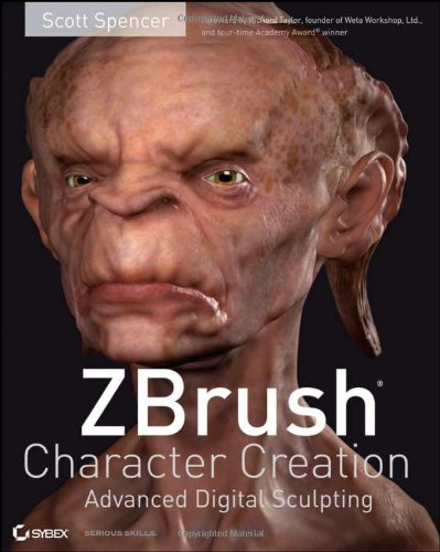 ZBrush Character Creation Advanced Digital Sculpting  2008 edition cover
