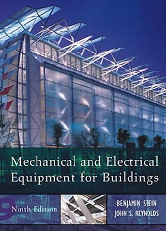 Mechanical and Electrical Equipment for Buildings  9th 2000 (Revised) edition cover