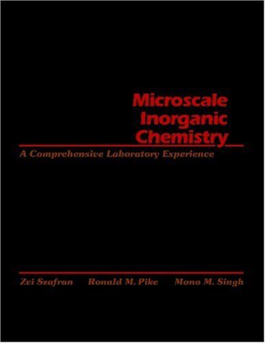 Microscale Inorganic Chemistry A Comprehensive Laboratory Experience  1991 edition cover