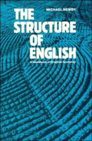 Structure of English A Handbook of English Grammar  1987 edition cover