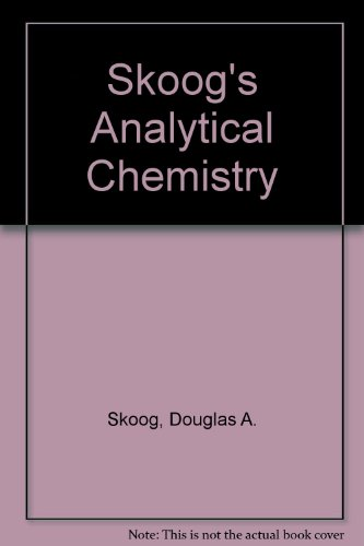Interactive Analytical Chemistry  8th 2004 9780534417963 Front Cover