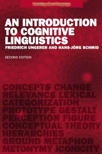 Introduction to Cognitive Linguistics  2nd 2007 (Revised) edition cover