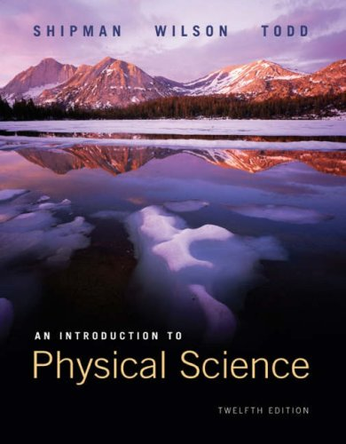 Introduction to Physical Science  12th 2009 edition cover