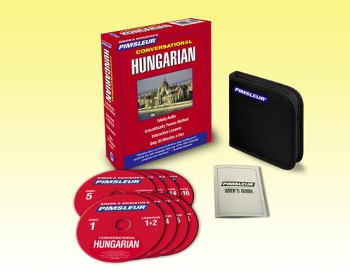 Conversational Hungarian: Learn to Speak and Understand Hungarian With Pimsleur Language Programs  2008 edition cover