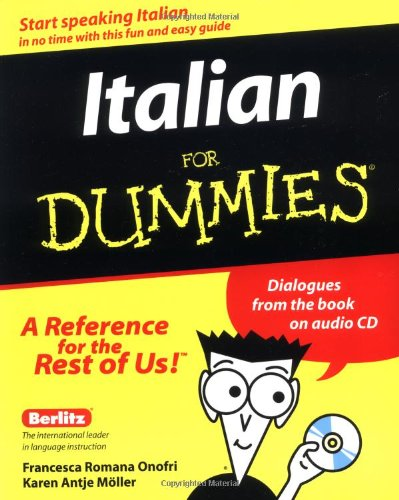 Italian for Dummies�   2000 9780764551963 Front Cover