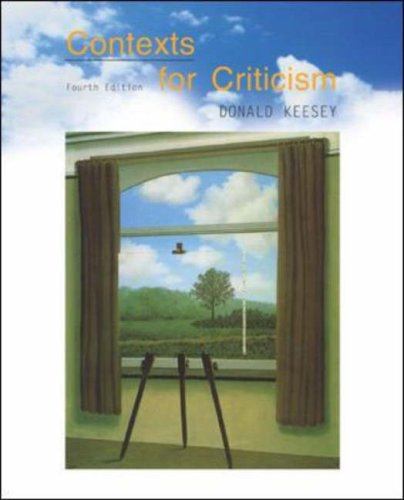Contexts for Criticism  4th 2003 (Revised) edition cover