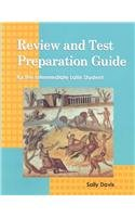 Review and Test Preparation Guide for the Intermediate Latin Student   1994 (Student Manual, Study Guide, etc.) edition cover