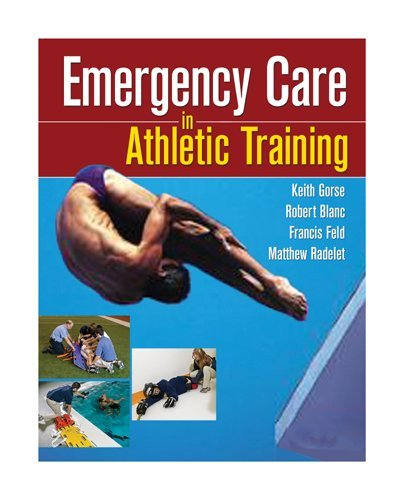 Emergency Care in Athletic Training   2010 edition cover