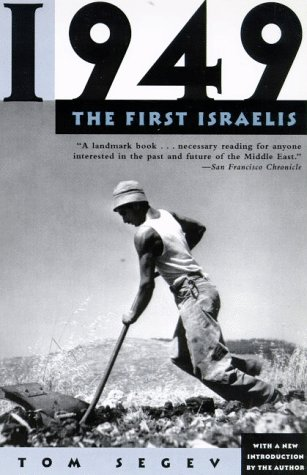 1949 The First Israelis Revised edition cover