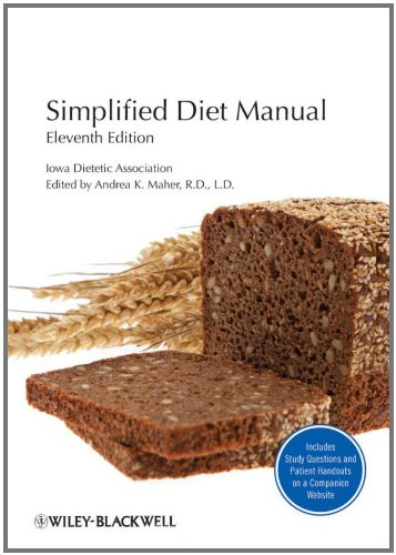 Simplified Diet Manual  11th 2012 9780813811963 Front Cover
