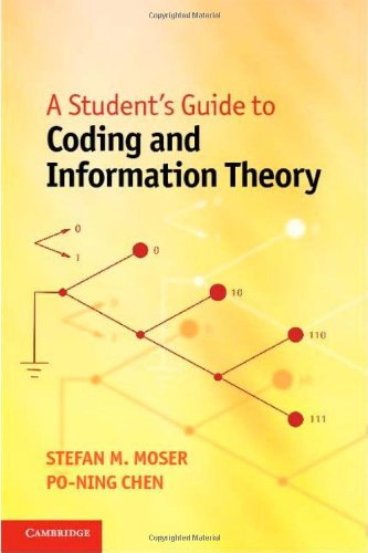 Student's Guide to Coding and Information Theory   2011 edition cover