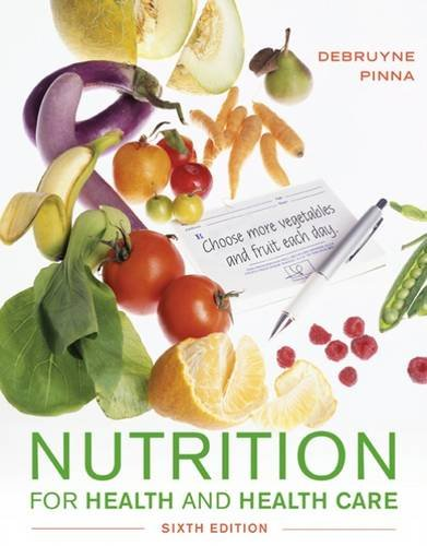 Nutrition for Health and Healthcare:   2016 9781305627963 Front Cover