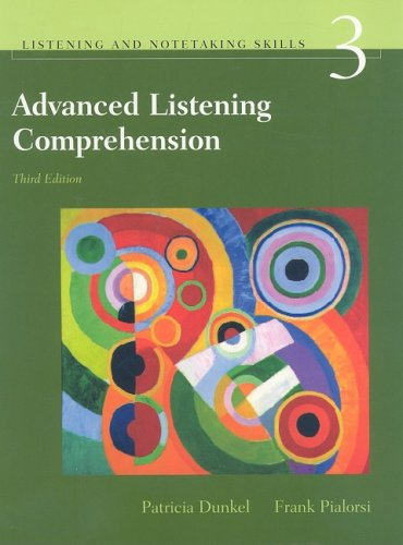 Advanced Listening Comprehension  3rd 2005 edition cover