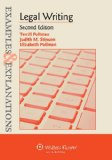 Legal Writing Examples and Explanations 2nd (Student Manual, Study Guide, etc.) edition cover