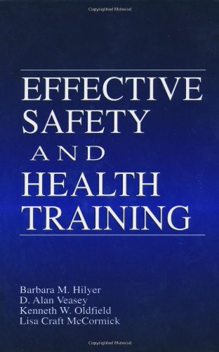 Effective Safety and Health Training   2000 edition cover