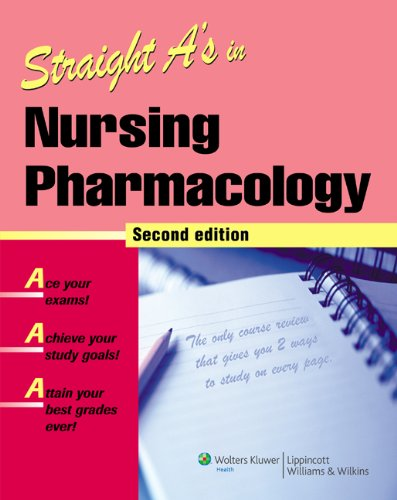 Nursing Pharmacology  2nd 2007 (Revised) edition cover