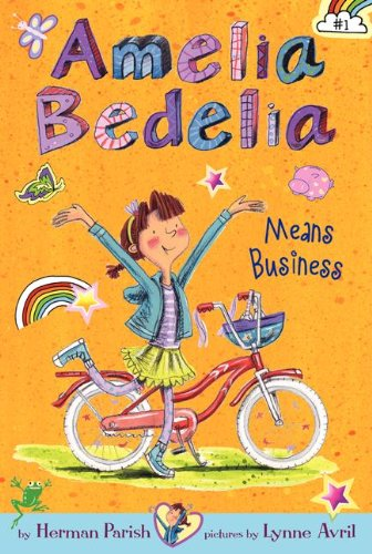 Amelia Bedelia Means Business   2013 edition cover