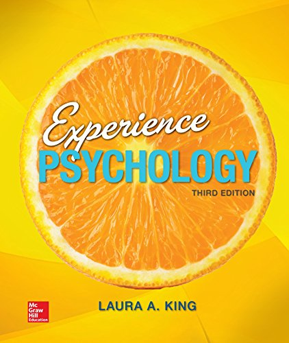 Loose Leaf Experience Psychology  3rd 2016 9780077861964 Front Cover