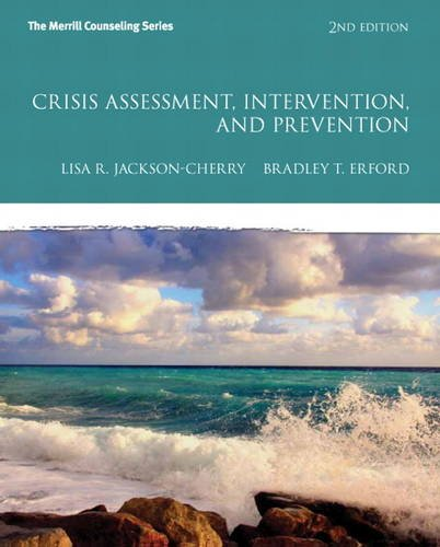 Crisis Assessment, Intervention, and Prevention  2nd 2014 edition cover